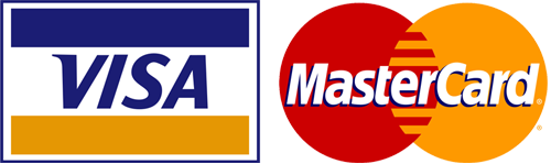 We accept Vias & Mastercard