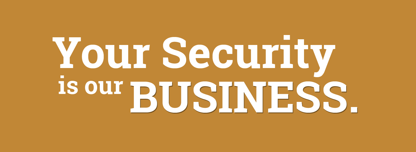 Your Security is our Business.